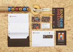 Papelería de la nueva marca para la artesanía sueca