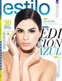 Revista Estilo Edición Azul. Tips Belleza, Portal, Blue Nails, Presents, Hair, Health, Style