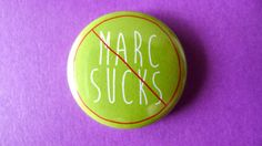 1 Pinback Button  Empire Records  Marc Sucks band by PushButtons, $1.49