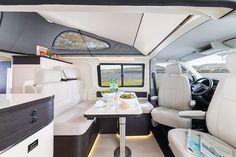 Westfalia kepler one new motorhome wandahome (south cave) lt Airstream Camping, Van Camping, Glamping, Camper Caravan, Diy Camper, Class B Camper Van, Camping Con Glamour, Combi T2, Luxury Van