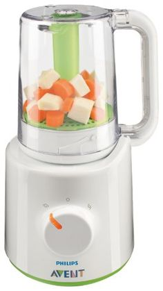 Buy Philips AVENT Combined Baby Food Steamer and Blender securely online today at a great price. Philips AVENT Combined Baby Food Steamer and Blender availab. Best Baby Food Maker, Baby Food Makers, Baby Food Steamer, Mixer, Brei Baby, Avent Baby Products, Mini Blender, Healthy Baby Food, Food Baby
