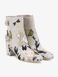 LAURENCE DACADE BABACAR EMBROIDERED BOOTS. #laurencedacade #shoes #boots