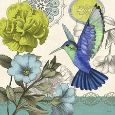 Aviary-Hummingbird by Jennifer Brinley