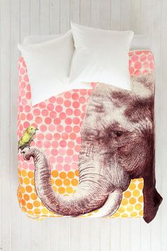 Garima Dhawan For DENY New Friends Duvet Cover
