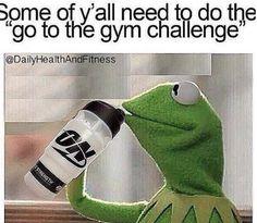 Kermit says the darnest things...  #fitnesshumor #kermittruth