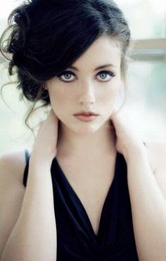 девушки с голубыми глазами_chales梁 - 美丽鸟