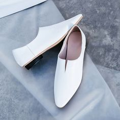 Chiko Aron Cut Out Glove Shoe Pumps feature pointed round toe, cut out front, block heel with rubber sole. Pump Shoes, Loafer Shoes, Pumps, Shoes Heels, Sock Shoes, Shoe Boots, Balenciaga, Creative Shoes, Loafers For Women
