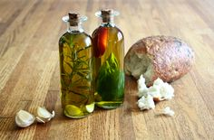 Infused oils should be refrigerated to inhibit the growth of bacteria and used within a short period of time.  If infusing with garlic (and not using immediately) you need to roast the garlic first. Raw garlic in olive can promote the growth of botulism, a serious form of food poisoning,  and careful precautions should be taken in order to make sure your oil is safe.