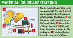 Holz streichen | Lasuren, Lacke & Öle | selbst.de