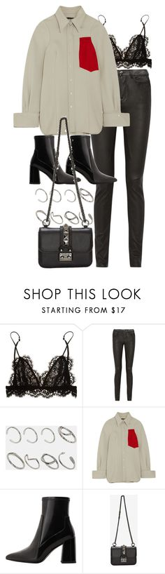 """Untitled #11052"" by nikka-phillips ❤ liked on Polyvore featuring Isabel Marant, Rick Owens, ASOS, Joseph, MANGO and Valentino"
