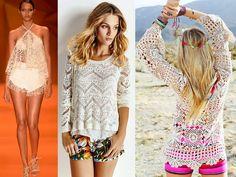 Crochê e tricô são umas das tendências do Verão 2016   Rio Artes Manuais