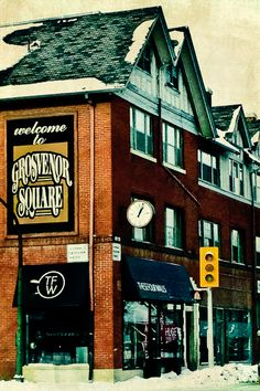 Grosvenor Square by Carla Dyck - shot in Winnipeg. Notice the snow on the ground & rooftops. Largest Countries, Countries Of The World, Site History, Northwest Territories, Newfoundland And Labrador, America And Canada, Prince Edward Island, New Brunswick, The Province