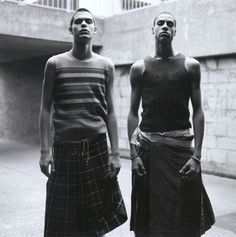 """Menswear Monday: Men in Skirts 