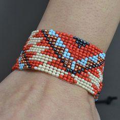 Pulsera Seed Bead Bracelet pulsera hecha a mano pulsera de