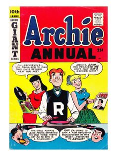 Archie comics.  My mama used to buy me these.  Miss these!