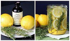 laranja, canela e cravo (pimenta da jamaica e anis são opcionais). Este aroma fica melhor nas salas e pode ser reutilizado por vários dias.