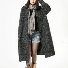 Autumn/Winter Casual Woolen Coat