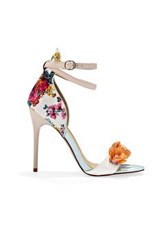 Wallflowers need not apply: Eye-catching details make this truly a statement shoe.