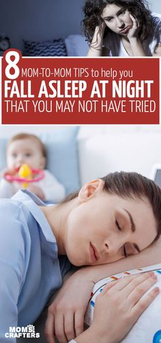 Are you struggling with mom insomnia? These 8 tips to fall asleep at night are scientifically-proven and tried and true - with ideas you may not have tried. Insomnia Causes, Insomnia Remedies, Sleep Remedies, Falling Asleep Tips, How To Fall Asleep, Moms Sleep, Natural Sleep Aids, Struggle Is Real, Physical Activities
