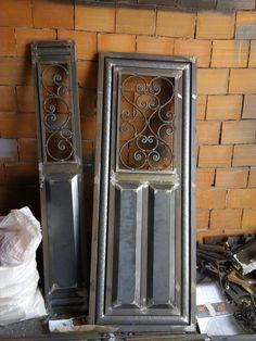 House Main Gates Design, Fence Gate Design, Front Gate Design, Door Design, Home Grill Design, Window Grill Design Modern, Metal Gates, Wrought Iron Doors, Diy Dresser Makeover