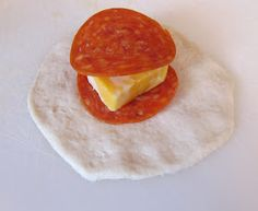 The Gunny Sack: Easy Pepperoni Rolls (we make these but as pizza pops and with hamburg and pizza sauce)