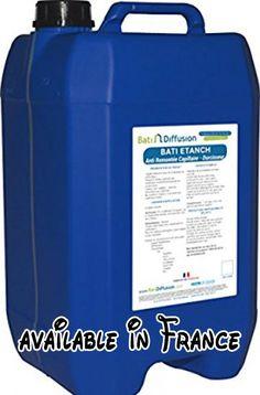 B01N4W7X57 : BATI ETANCH - Anti Remontée Capillaire / Durcisseur-Bidon 30Kg. Durcit et minéralise vos murs en profondeur.. Produit à pulvériser ou injecter.. Fixateur anti-salpêtre il traite les remontées capillaire.. Ne modifie ni l'aspect ni la teinte. #Home Improvement #TOOLS