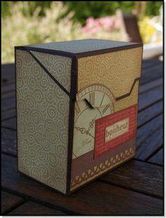 Boîte friandise2 - tuto de  christelle53: http://christelle53.canalblog.com/archives/2012/05/21/24301005.html
