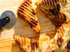 Grilled Pizza Panini Sandwich - Serious Eats