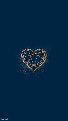 Vela Luxury Lime & Bay com tampa Wallpaper C, Heart Wallpaper, Aesthetic Iphone Wallpaper, Wallpaper Backgrounds, Heart Logo, Logo Design, Graphic Design, Valentines Day Hearts, Phone Backgrounds