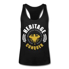 HERITAGE CONQUER Colorful Tank Top | ricomocellin Männer Fitness Rückenfrei Tank Top HERITAGE CONQUER