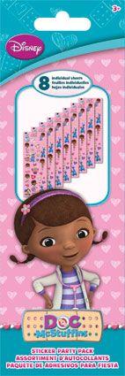 Doc McStuffins - Sticker Party Pack