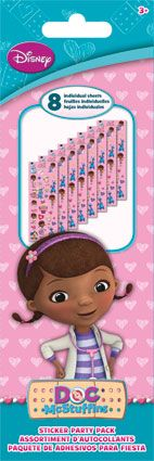 Doc McStuffins - Sticker Party Pack