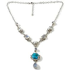 Moonstone and copper turquoise  Nicky Butler