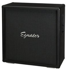 """Egnater Vengeance VN Guitar Speaker Cabinet (300 Watts, 4x12""""): A perfect match for the Egnater Vengeance head, this cab features an automatic impedance sensing jack and four Elite-75 speakers by Celestion."""