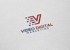 Video Digital Logo by REDVY on Creative Market