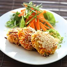 Rotsaksbiffar med örtsås - 8p  #Vegetarian