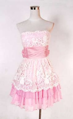 Betsy Johnson, for Larisa Pink Dress, Lace Dress, Dress Up, Skirt Outfits, Cute Outfits, Dresses For Teens, Mini Dresses, Betsey Johnson, Beautiful Outfits