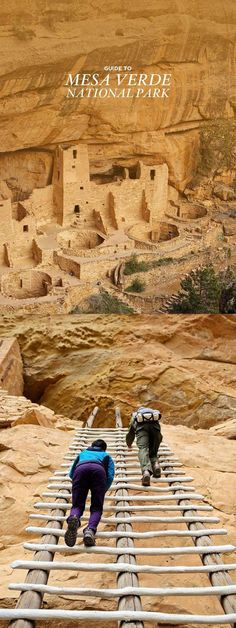 7 Things You Can't Miss in Mesa Verde National Park Colorado Mesa Verde is a unique park in the US and is also a UNESCO world heritage site. Check out our list of 7 things to do in Mesa Verde National Park. Wyoming, Oh The Places You'll Go, Places To Travel, Travel Destinations, Camping Places, Rv Camping, Le Colorado, Colorado Springs, Hiking In Colorado