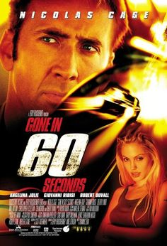 60 Saniye - Gone in Sixty Seconds - 2000 - BRRip - Turkce Dublaj Film Afis Movie Poster
