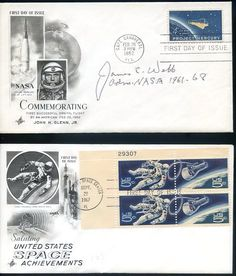 Space Cover 147: Space Stamp First Day Covers - collectSPACE: Messages