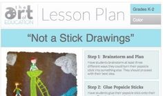 The Art of Ed - Not a Stick Drawings: Free Lesson Plan Download