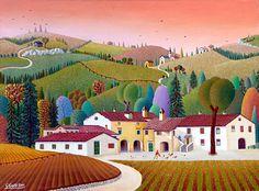 A Farm in Umbria by Giovanni Galli