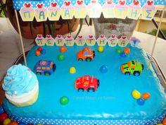 Berliner Λουκουμάδες φούρνου - Γιαγιά Μαίρη Εν Δράσει Birthday Cake, Desserts, Food, Tailgate Desserts, Deserts, Birthday Cakes, Essen, Postres, Meals