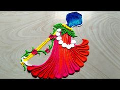 Easy Rangoli Designs Diwali, Diwali Special Rangoli Design, Indian Rangoli Designs, Rangoli Designs Latest, Rangoli Designs Flower, Colorful Rangoli Designs, Dulhan Mehndi Designs, Rangoli Ideas, Rangoli Designs Images