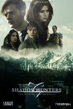 Shadowhunters 2x16 poster. I'm so excited for the next episodes