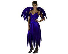 Disfraz de Demonia Morada. Por sólo 8,99€ El disfraz incluye: Vestido y alas http://www.disfracessimon.com/disfraces-hombre-mujer-adultos/1334-disfraz-demonia-morada-p-1334.html