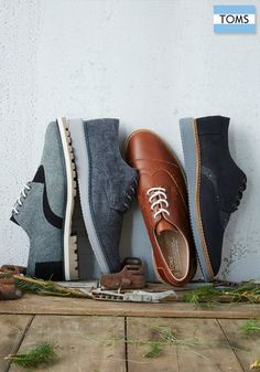 TOMS Brogues help you stand out, whether at the office or out on the town.