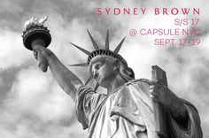 Come visit us @capsuleshow NY Sept. 17-19! Please contact bryan@sydney-brown.com to schedule an appointment. #ss17collection #capsulenyc #nymarketweek2016 #nyfashionweek