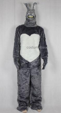 Donnie Darko FRANK the BUNNY Adult Costume Fancy Dress MASK Jumpsuit Faux Fur #Handmade #CompleteCostume