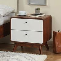 Shop for Simple Living Cassie Mid-Century Bedroom Set. Get free delivery On EVERYTHING* Overstock - Your Online Furniture Shop! Get in rewards with Club O! Bedroom Furniture Stores, Furniture Deals, Furniture Outlet, Online Furniture, Furniture Movers, Discount Furniture, Classic Furniture, Mid Century Modern Furniture, Mid Century Bedroom